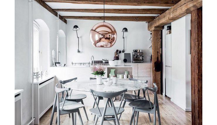 Scandinavisch Droomhuis Kopenhagen : Robuust stulpje in kopenhagen met speelse keuken pinterest