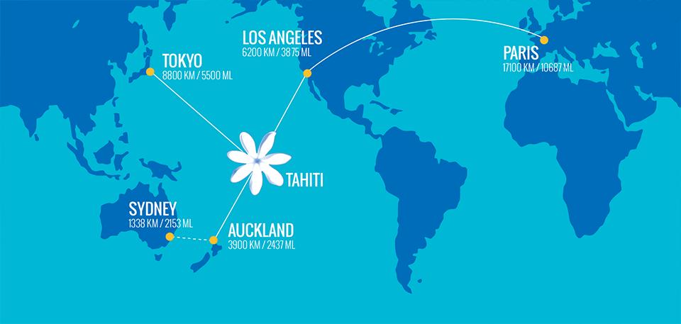 Flights, Airfare to Tahiti & Bora Bora Fransız