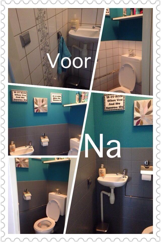 Toilet Pimpen Voor Weinig Badkamer Opknappen Toilet Verbouwing Toilet Ontwerp