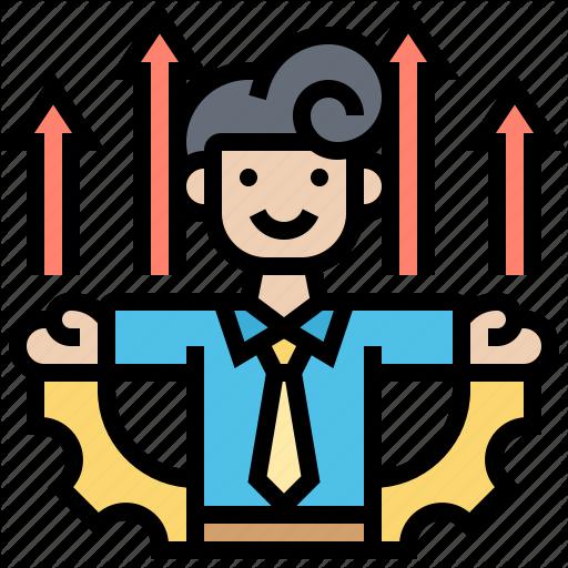 Achievement Capability Development Employee Improve Icon Download On Iconfinder Icon Achievement Summer Icon