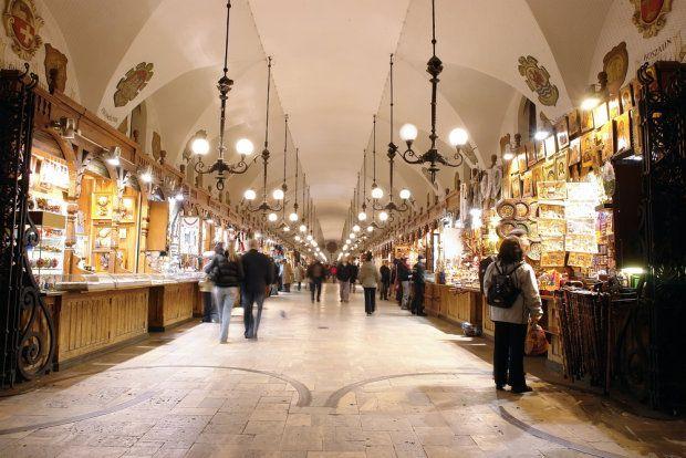 Cloth Hall, Sukiennice, Cracow ..