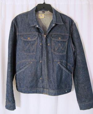 0243873b Vintage 1940s/50s Wrangler Blue Bell Denim Jacket | Vintage Wrangler ...
