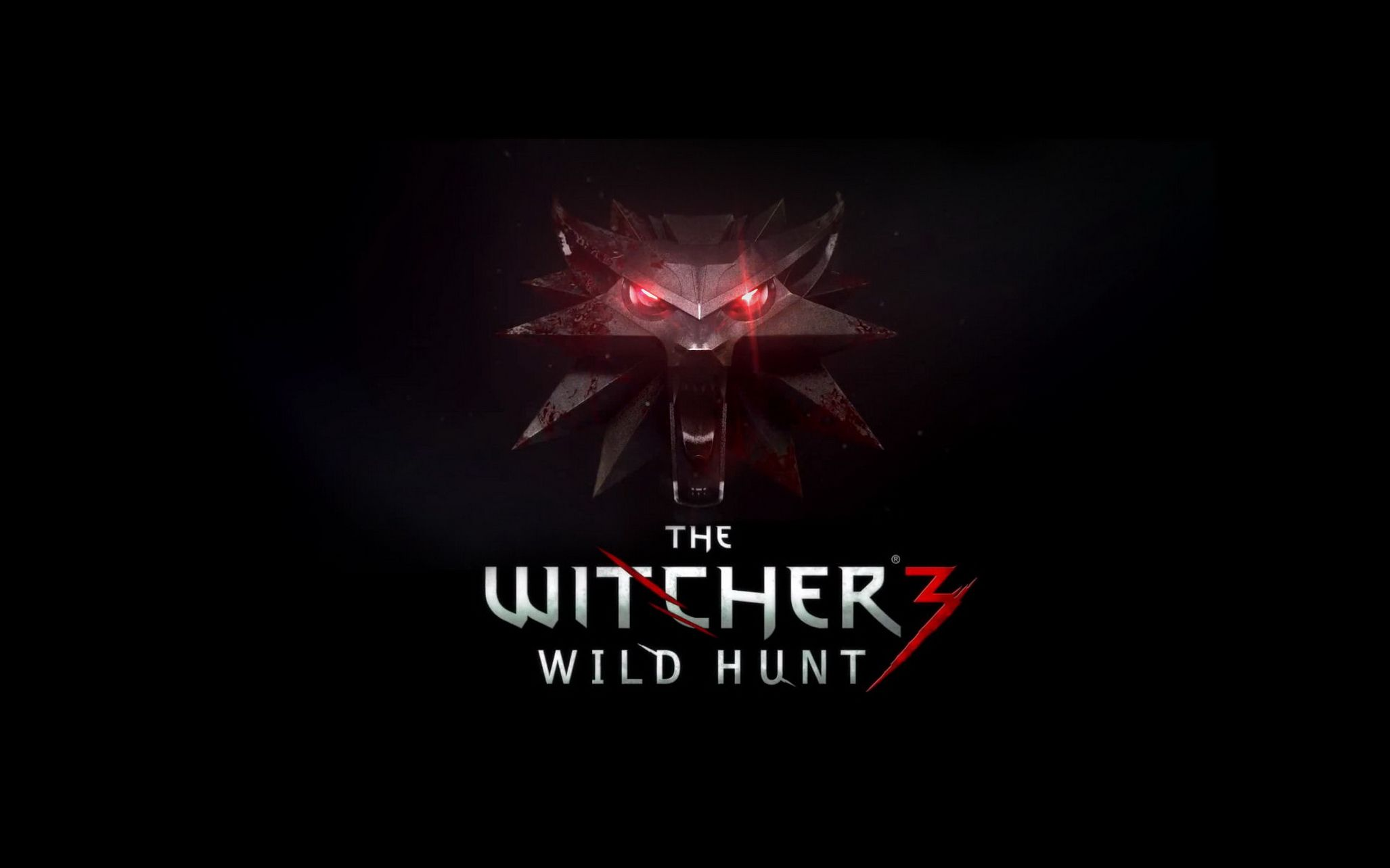 The Witcher 3 Logo Wolf HD Wallpaper Wallpaper The