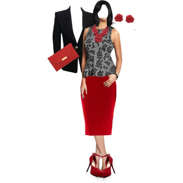 Pendulum with Red Skirt and Black Jacket