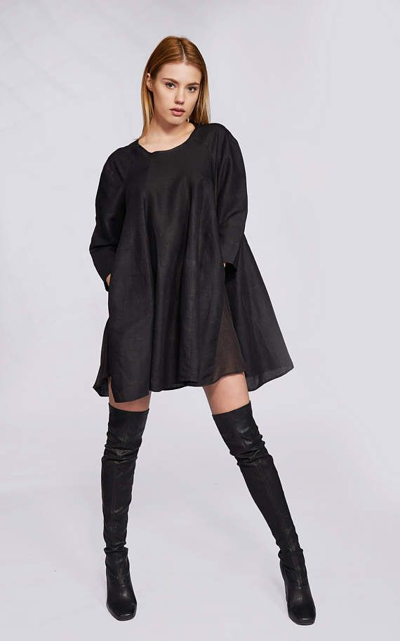 Plus Size Linen Tunic Trendy Plus Size Clothing Plus Size Tunic