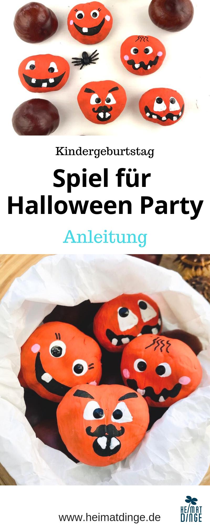 Halloween Geburtstag: Spiel #bastelnmitkastanienkinder Mit diesem selbstgemachten Spiel bringst du auf einer Halloween Kinderparty so richtig Schwung in die Bude und hast auch gleich ein kleines Mitgebsel für die Mitgebseltüte. Auf einem Halloween Kindergeburtstag sehen die Kürbisse aus Kastanien auch als Tischdeko toll aus. Mit Kastanien basteln macht einfach Spaß. Zur Spiel Anleitung geht's hier. #halloween#kinder#halloweenparty#spiele#bastelnmitkindern#kastanien#kinderparty#ideen #kastanienbastelnkinder
