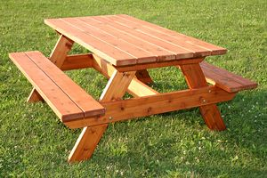 What Are Some Good Wood Species For Picnic Tables Outdoor - Best wood for picnic table