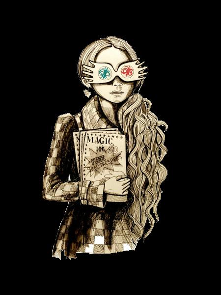 Harry Potter Luna Desenho Harry Potter Harry Potter Tumblr