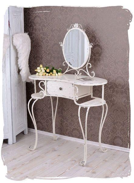 Shabby Stil Möbel luxuriöser schminktisch im shabby chic stil palazzo int