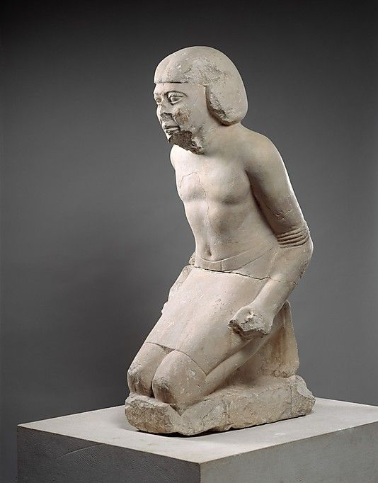Statue of Kneeling Captive Period: Old Kingdom Dynasty