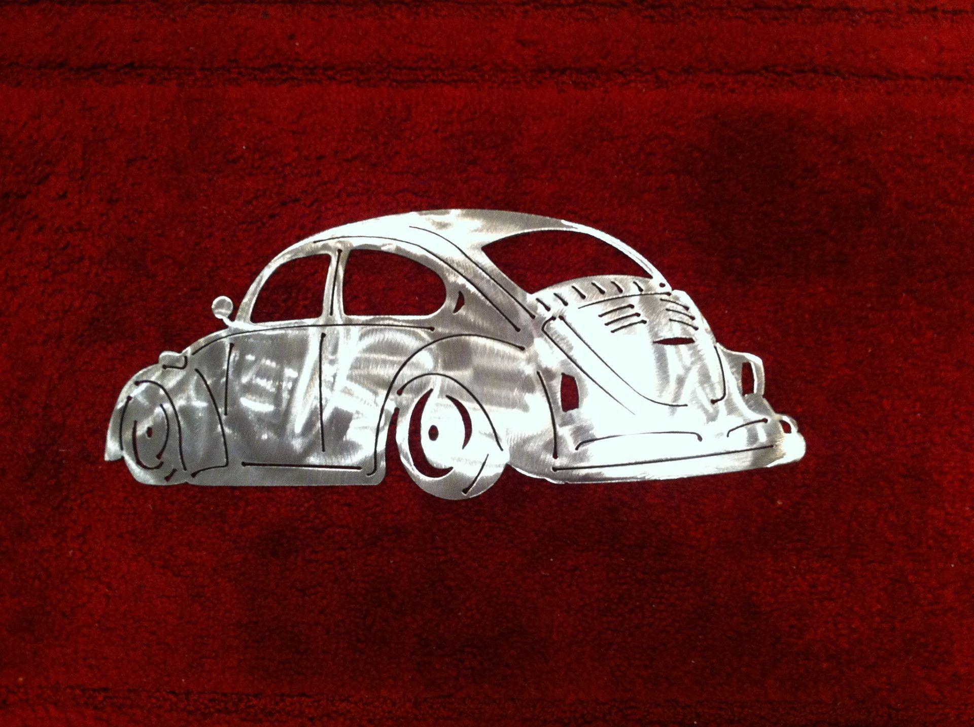 Volkswagen Beetle Metal Art Vw Metal Art Volkswagen Beetle Vw Beetle Classic Beetle