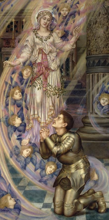 Evelyn De Morgan, Our Lady of Peace, 1907
