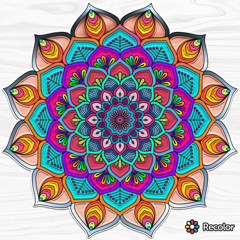Pin Van Beatriz Gomez Op Crafty Things 3 Mandala S
