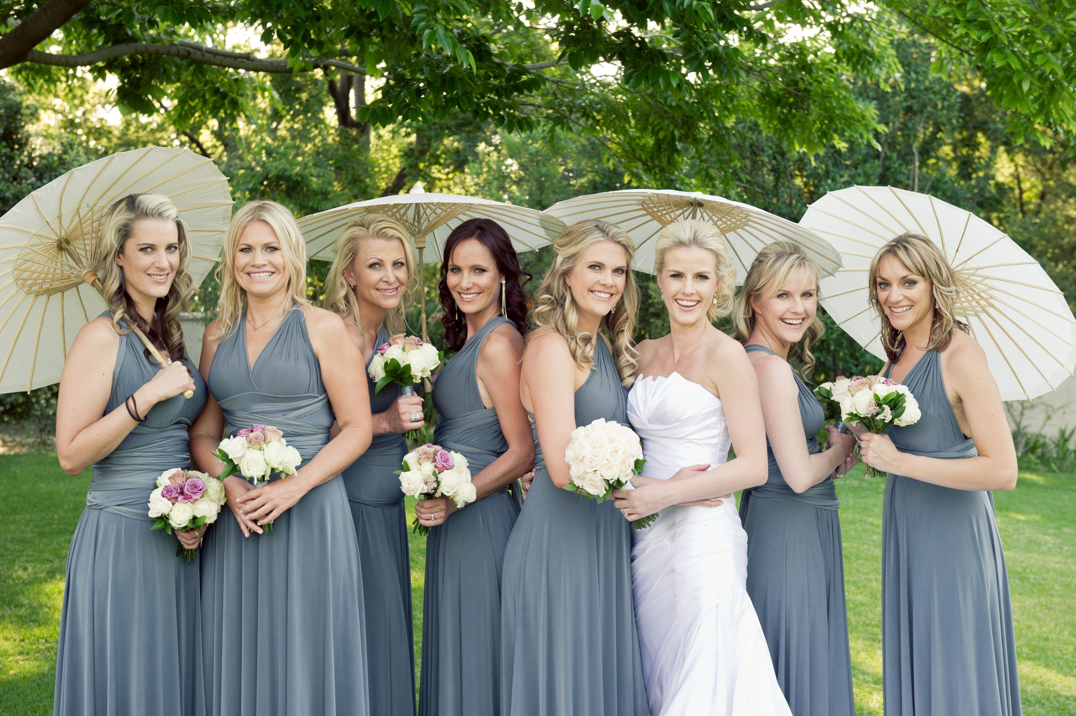 Convertible bridesmaid dresses in blue grey bridesmaids convertible bridesmaid dresses in blue grey ombrellifo Choice Image
