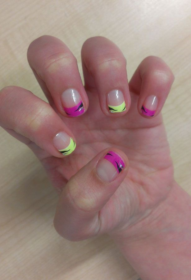 Nail art trends tried and tested | Nail art pen, Gel manicure and ...