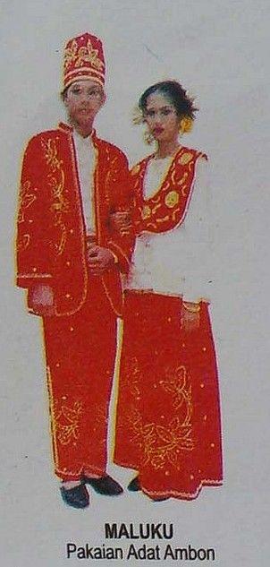 Nama Pakaian Daerah Maluku : pakaian, daerah, maluku, Pakaian-Adat-Maluku-Pakaian-Tradisional-Maluku-Baju-Adat-Maluku.jpg, (302×633), Klederdracht,, Molukken,, Mensen