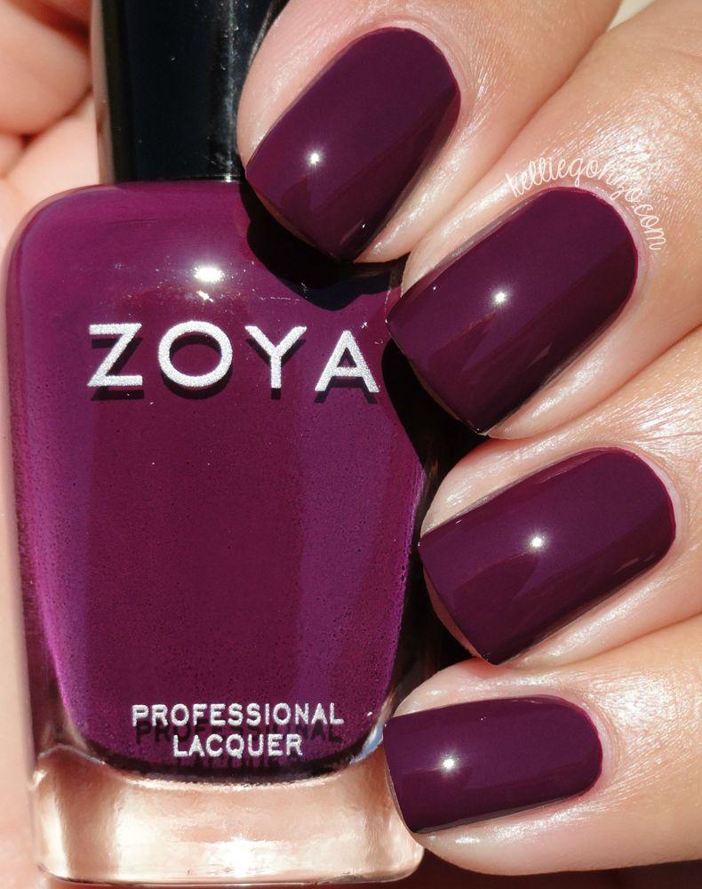 Zoya Tara // @kelliegonzoblog | Vegan/Curltyfree nail polish/care ...