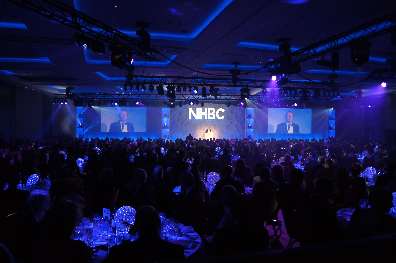NHBC Gala 2014 Corporate awards, Pa system, Led fixtures