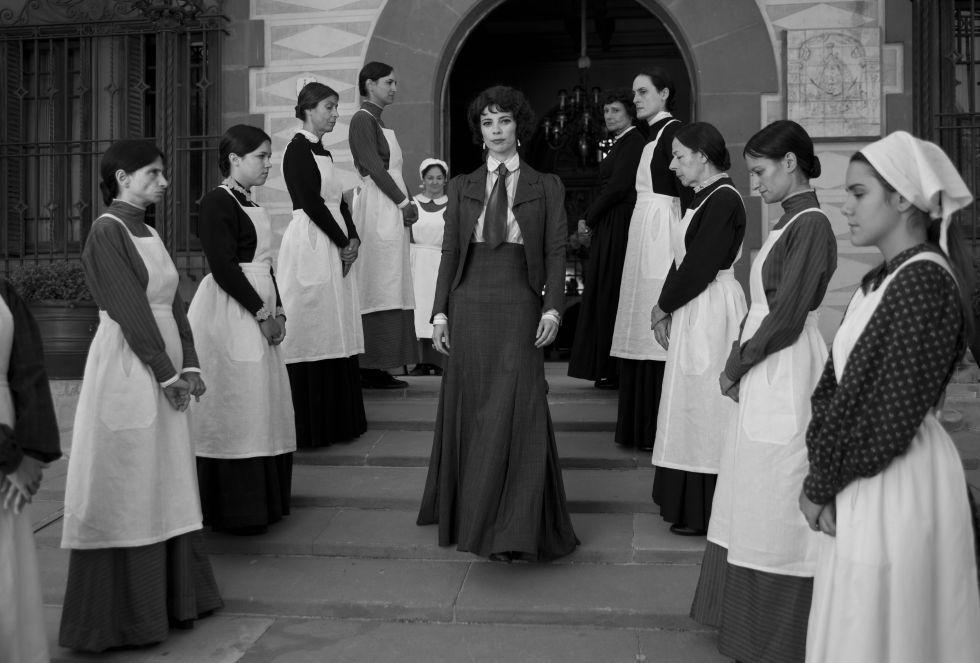 Maribel Verdú es la madrastra en esta adaptación de Blancanieves de Pablo Berger.