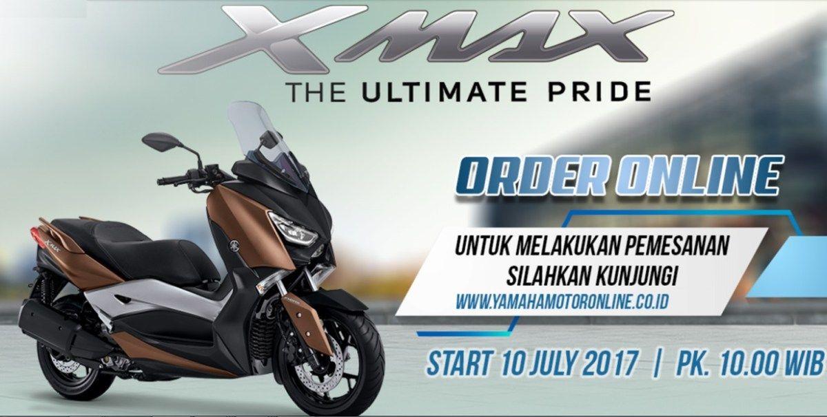 Yamaha Buka Order Online Xmax Bisa Pesan Online Di Dealer Pesan