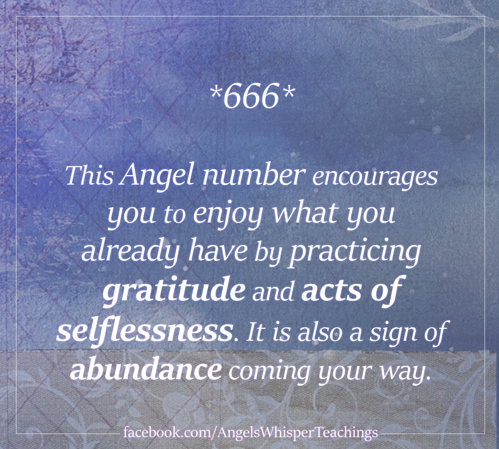 Angel Numbers | Angel Number 666 | 666 Meaning | Numerology