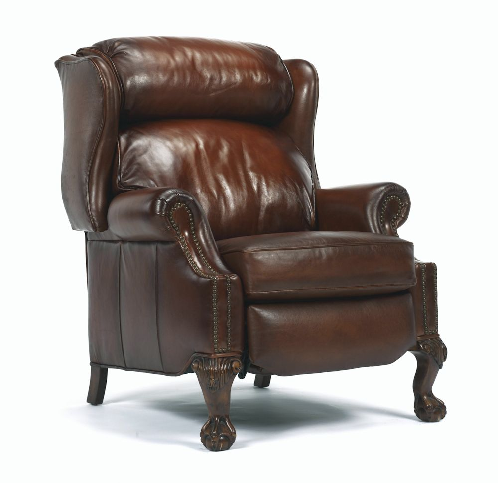 Best Leather Recliners Clearance Flexsteel Wing Back Leather 400 x 300