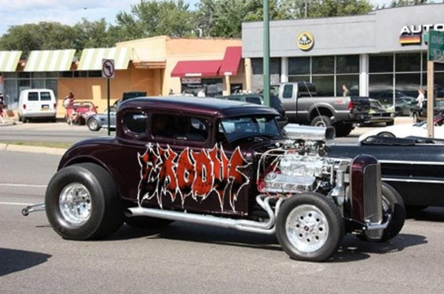 Car Show Grid | Hotrod Hotline | DAP of HOT ROD TRUCKS (6 ...