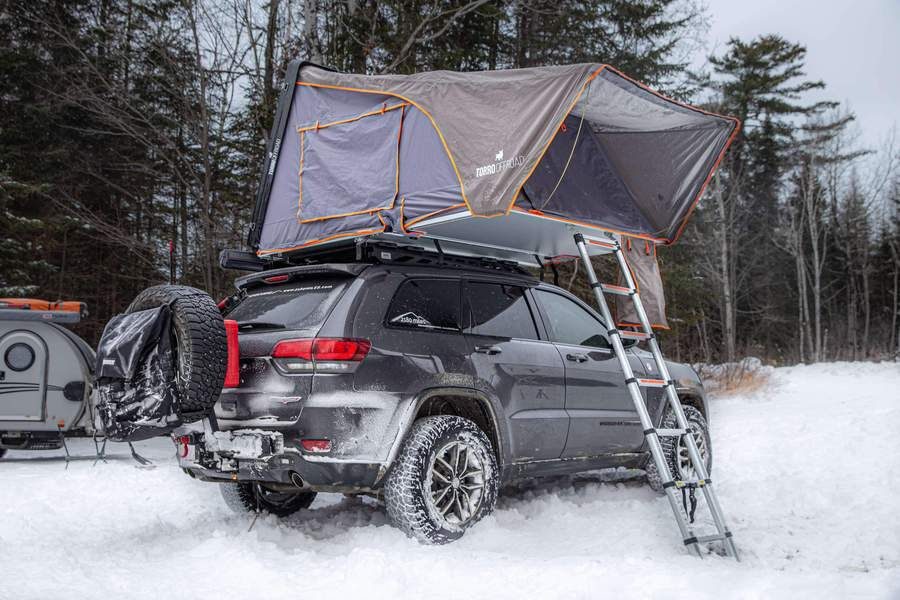 Skylux Hard Shell Rooftop Tent Rtt With Awning And Insulation Package In 2020 Roof Top Tent Tent Rooftop