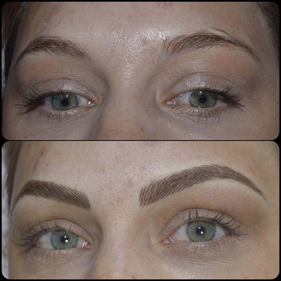 Hair stroke technique eyebrows new jersey - Permanent Make Up Micropigmenta O Micropigmenta O 3d Sobrancelhas Blond