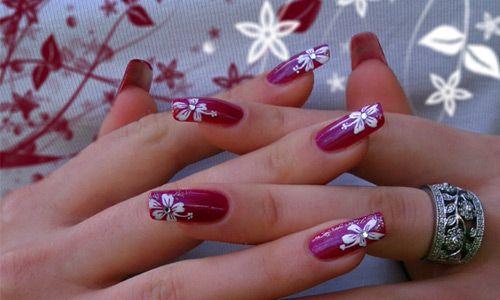 Easy Fabulous Flower Nail Art Designs Pictures Nails Pinterest