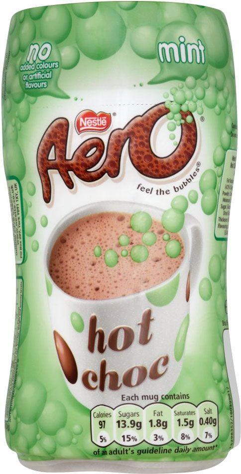 Nestle Aero Instant Mint Hot Chocolate Woooww Love It