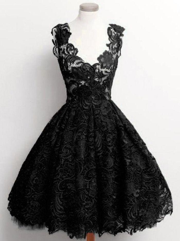 Damen Gothic Steampunk Spitzenkleid Festlich Kleid ...