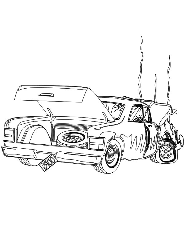 Expensive Crashed Cars Coloring Pages Netart Cars Coloring Pages Coloring Pages Car Drawings