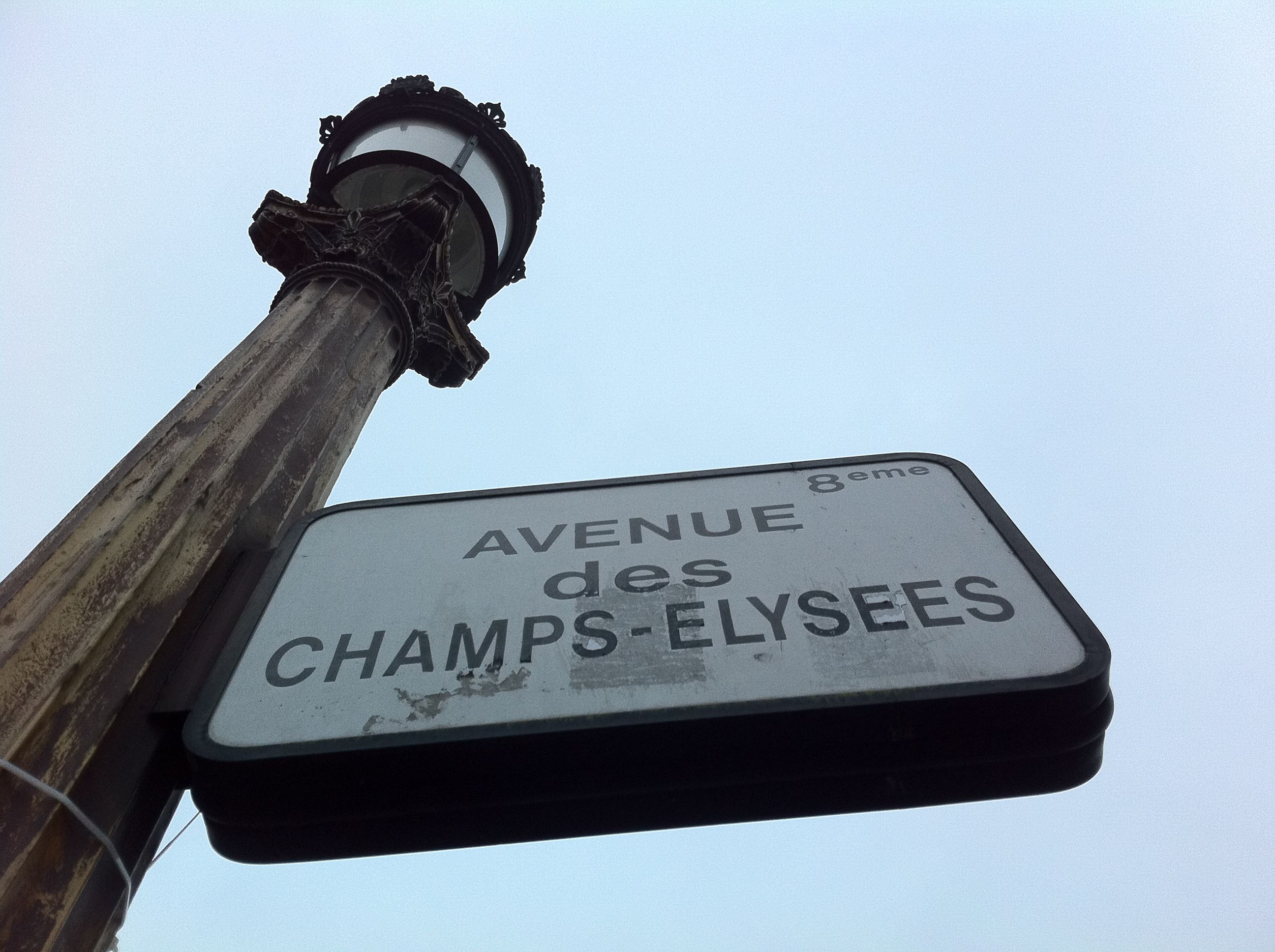 Avenue des Champs-Elysees. By Hayley