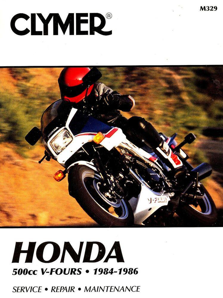 eBay #Sponsored 1984 to 1986 HONDA VF500F INTERCEPTOR