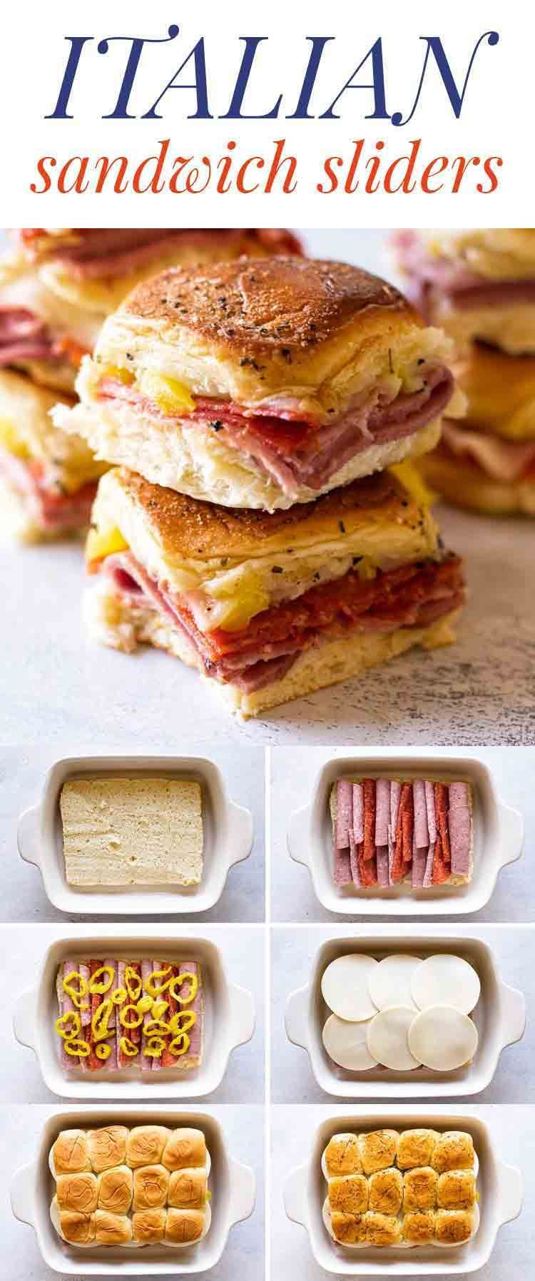 Italian Sandwich Sliders