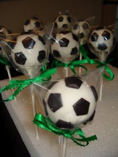 Making cake pops for the soccer tournament this weekend :)