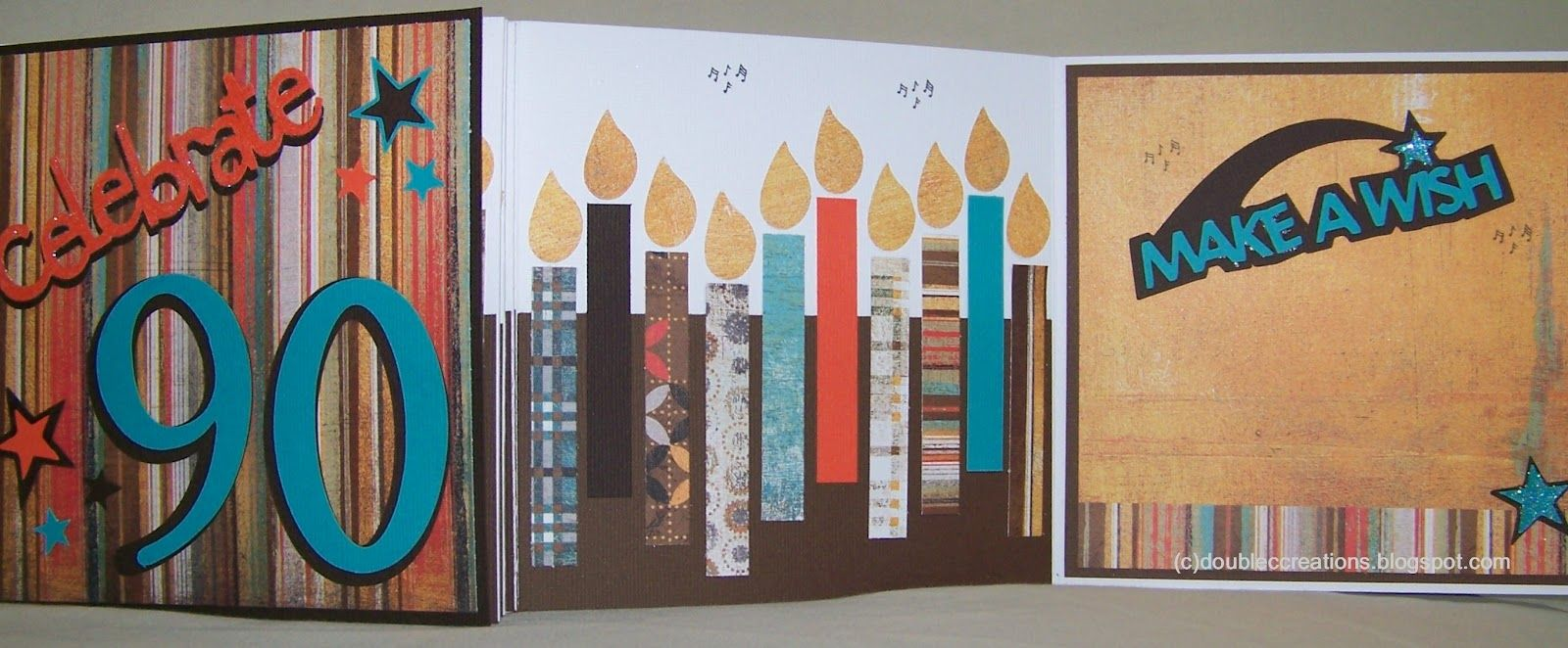 Card Making Ideas 90th Birthday Part - 37: Double C Creations: 90 Candles · 90th Birthday CardsStampingCard ...