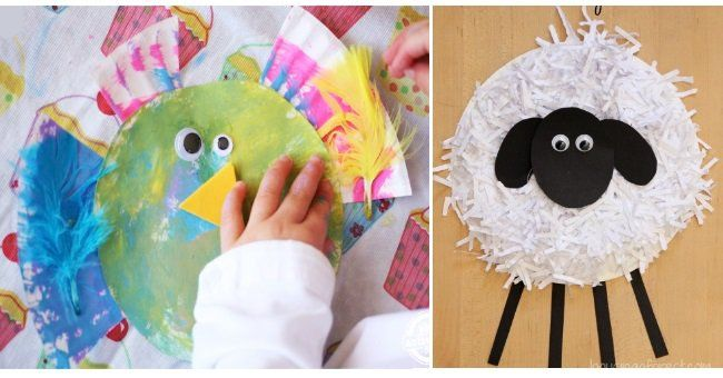 Fun animal paper plate crafts make these with your kids and create your own zoo! & ANIMAL PAPER PLATE CRAFTS | Paper plate crafts Paper plate animals ...