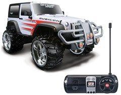 4c2f4772637 All Things Jeep - Maisto 1:16 Scale Remote Control Off-Road Jeep Wrangler  Rubicon