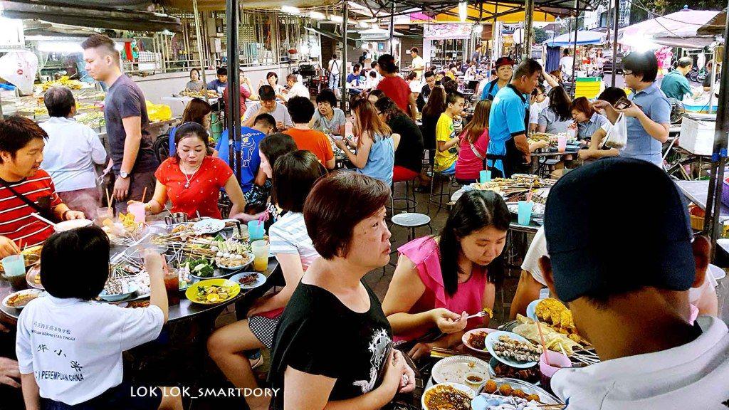 Best Lok Lok Steamboat Dinner in Pulau Tikus Market