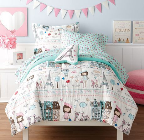 Madi S Room Bedding Sets Paris Bedding Big Girl Bedrooms