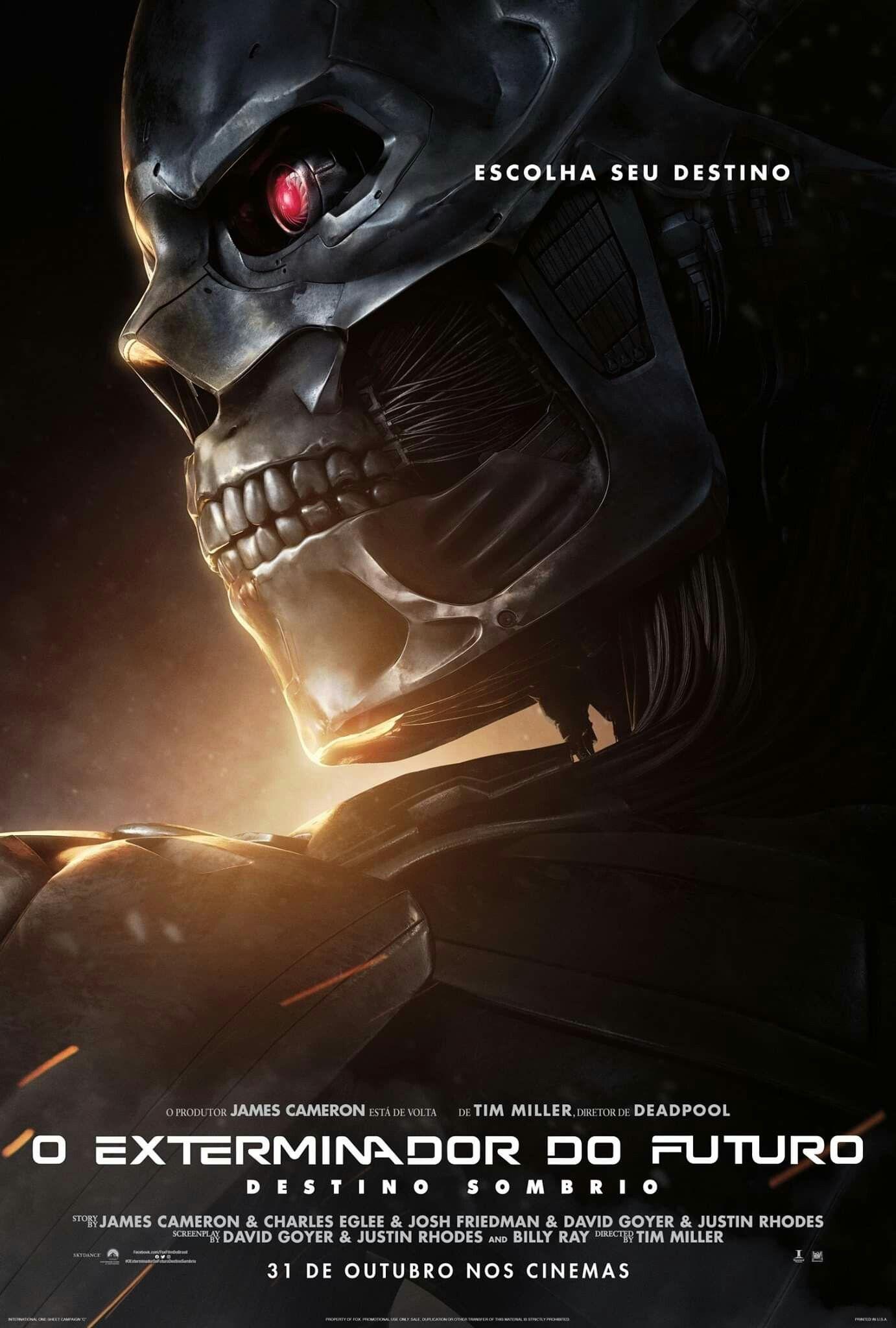 Destino Sombrio Exterminador Do Futuro Filmes Destino
