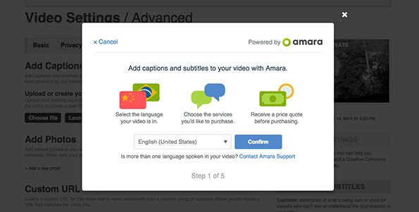 Vimeo + Amara = accessible videos for all on Vimeo