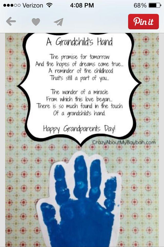 Grandparents Gift Arts And Craft Ideas Pinterest Grandparents