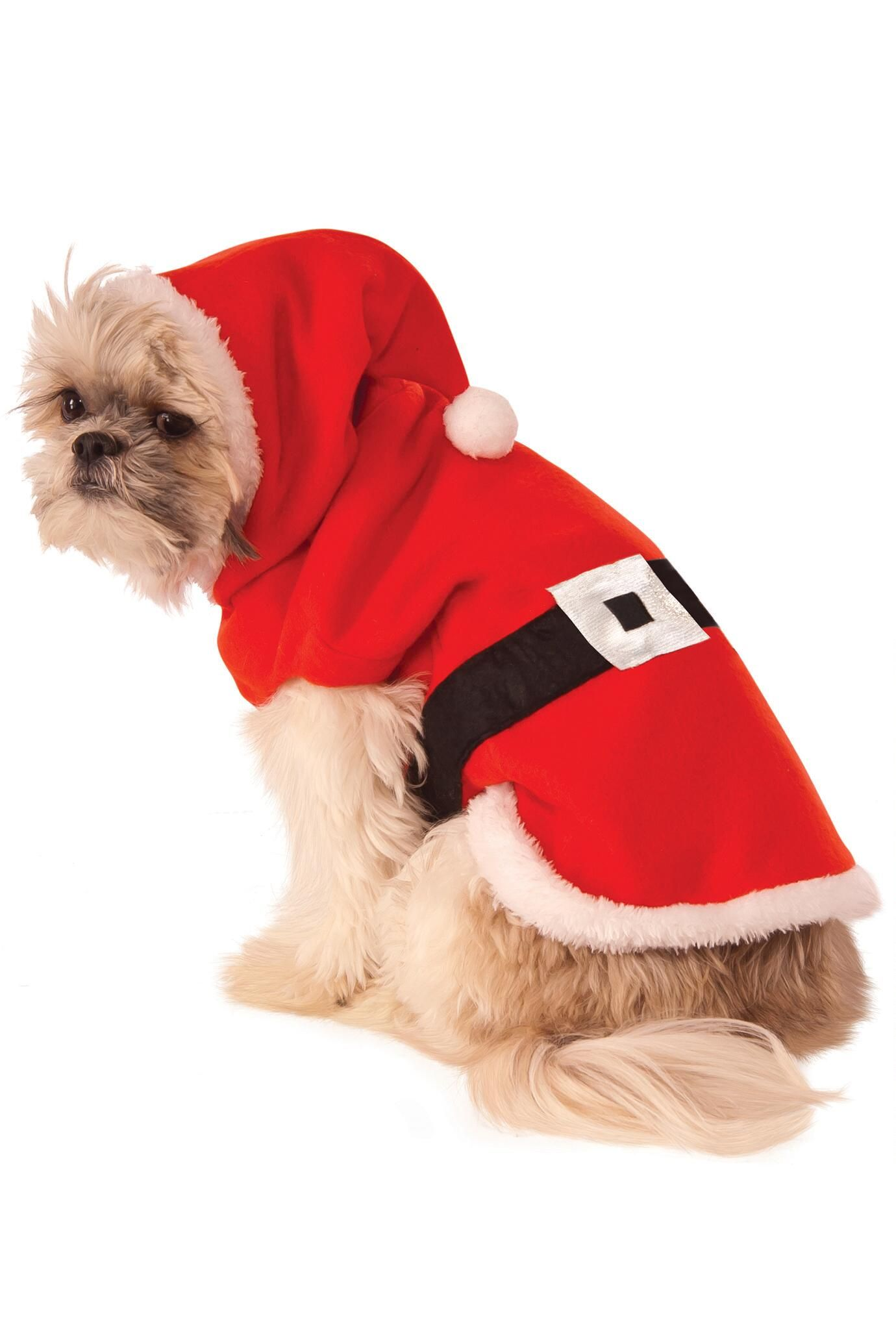 Santa Hoodie Costume For Dogs Chasingfireflies 19 00 Costumes