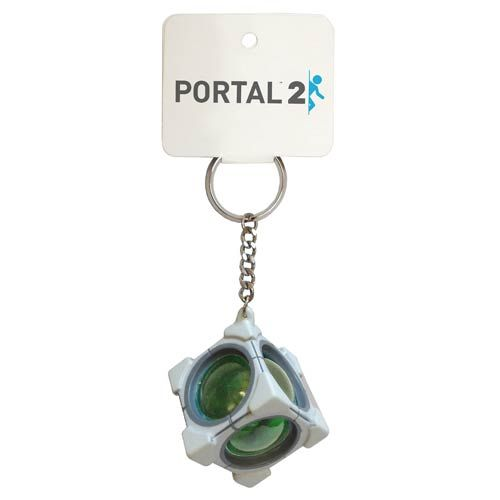 Portal 2 Refracting Box Key Chain Stuff I Want Portal