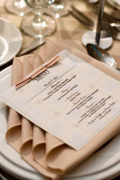 Pretty Way To Fold The Napkin And Easy Too Wedding Reception Table Decorations Setting Ideas