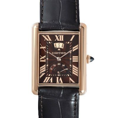 Retail price 21 600 case material 18k rose gold bracelet material leather clasp 18k rose gold for Retail price watches