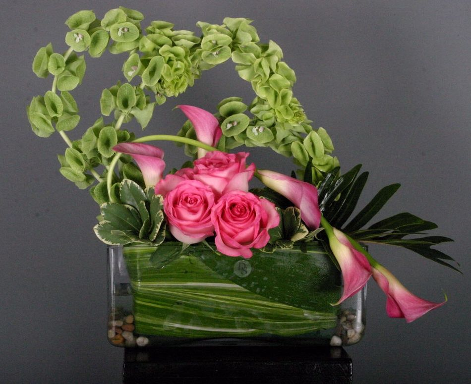Bells Of Ireland Flower Arrangements Local Only Flower Delivery Flower Arrangements Flowers